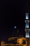 The Blue Mosque - Istanbul at night Stock Photo