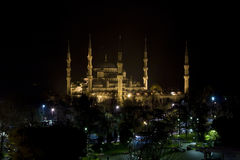 Blue Mosque, Istanbul. Blue Mosque at night (Istanbul), Turkey Royalty Free Stock Images