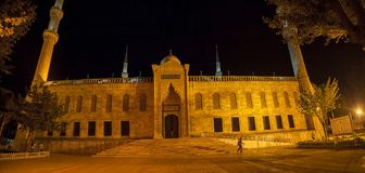 Blue mosque Istanbul by night Stock Photography