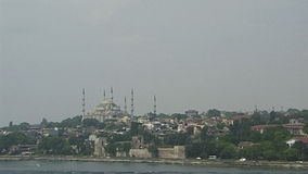 Blue Mosque. Istanbul. stock footage