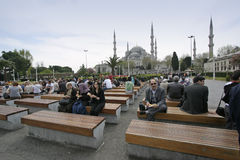Blue Mosque Istanbul Stock Photography