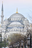 Blue Mosque Istanbul. Blue Mosque in Istanbul, street view royalty free stock image