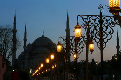 Blue Mosque in Istanbul Stock Image