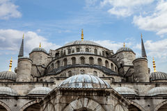 Blue Mosque in Istanbul. Blue Mosque (Sultan Ahmed Mosque) in Istanbul, Turkey Royalty Free Stock Images