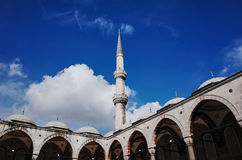 The Blue Mosque, Istanbul. The Blue Mosque Sultan Ahmed Mosque, Istanbul, TURKEY - October 2014 Stock Photo