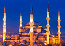 The Blue Mosque, Istanbul, Turkey. Stock Photography