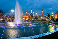 The Blue Mosque, Istanbul, Turkey. Royalty Free Stock Image