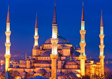 The Blue Mosque, Istanbul, Turkey. Royalty Free Stock Photography