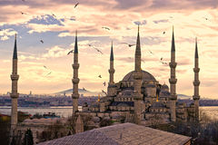 The Blue Mosque, Istanbul, Turkey. stock image