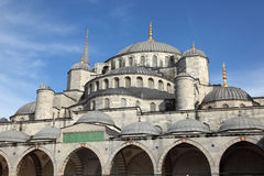 Blue Mosque in Istanbul, Turkey. The famous Sultan Ahmed Mosque (Blue Mosque) in Istanbul, Turkey Stock Images