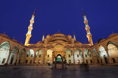 Blue Mosque in Istanbul, Turkey. The famous Sultan Ahmed Mosque (Blue Mosque) in Istanbul, Turkey Royalty Free Stock Photos