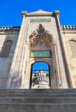 Blue mosque in Istanbul Turkey Royalty Free Stock Photography