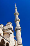 Blue mosque in Istanbul Turkey Royalty Free Stock Photos