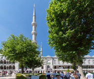 Blue Mosque Istanbul Turkey Stock Image