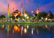 Blue mosque in Istanbul - Turkey. Blue mosque in a Istanbul - Turkey Royalty Free Stock Photography