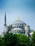 Blue mosque. In istanbul, Turkey Royalty Free Stock Photo