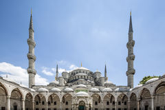 Blue Mosque, Istanbul, Turkey. Blue Mosque in Istanbul, Turkey Stock Photo