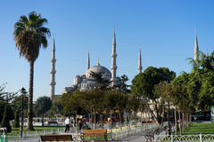 The blue mosque Stock Image
