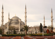 The blue mosque, Istanbul Turkey. The famous Blue Mosque in Istanbul, Turkey Stock Image