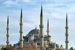 Blue mosque, istanbul, turkey Royalty Free Stock Photo