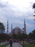Blue Mosque, Istanbul, Turkey. The Blue Mosque in Istanbul, Turkey Stock Photos