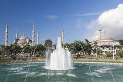 Blue mosque in Istanbul, Turkey.  Stock Image