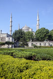 Blue mosque in Istanbul, Turkey.  Stock Photo