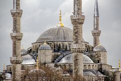 The Blue Mosque - Istanbul, Turkey. Royalty Free Stock Photos