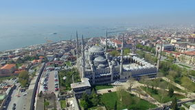 Blue Mosque in Istanbul, Turkey stock footage