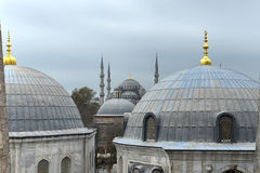 Blue Mosque - Istanbul, Turkey Royalty Free Stock Images