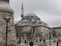 The Blue Mosque in Istanbul, Turkey Royalty Free Stock Photography