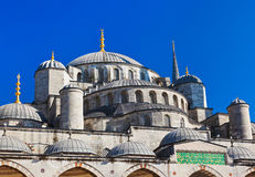 Blue mosque in Istanbul Turkey Stock Images