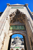Blue mosque in Istanbul Turkey. Architecture religion background Stock Images