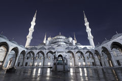 Blue Mosque at the istanbul Turkey Stock Images