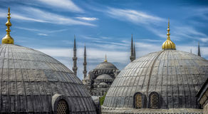 Blue mosque in istanbul,Turkey. The famous  Blue mosque in istanbul,Turkey Stock Photo