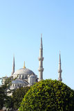 Blue Mosque in Istanbul. Turkey. Famous place in the central part of the city Royalty Free Stock Image