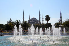 Blue mosque,Istanbul,Turkey Royalty Free Stock Photography