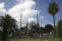 The Blue Mosque in Istanbul, Turkey Stock Images