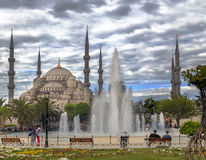 Blue Mosque, Istanbul, Turkey Royalty Free Stock Image