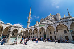 Blue mosque, Istanbul, Turkey. stock image