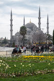 Blue Mosque in Istanbul, Turkey Royalty Free Stock Photography
