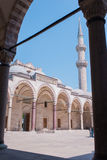 Blue Mosque in Istanbul. Turkey, Istanbul Sultan Ahmed Mosque (Blue Mosque Stock Photo