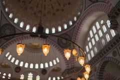 Blue Mosque in Istanbul. Turkey, Istanbul Sultan Ahmed Mosque (Blue Mosque Royalty Free Stock Photo