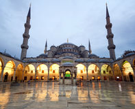 The Blue Mosque in Istanbul Turkey Stock Images