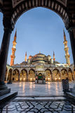 Blue mosque in Istanbul,Turkey Royalty Free Stock Image