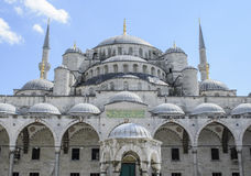 Blue Mosque Istanbul Turkey Royalty Free Stock Images