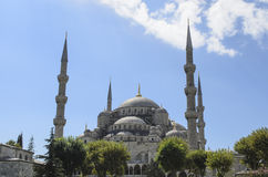 Blue Mosque Istanbul Turkey Royalty Free Stock Photo