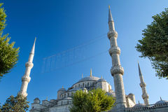 The Blue Mosque, Istanbul, Turkey Royalty Free Stock Photography