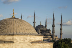 Blue Mosque in Istanbul, Turkey. Blue Mosque (Sultanahmet Camii) in Istanbul, Turkey Royalty Free Stock Photo