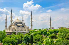 The Blue Mosque in Istanbul, Turkey Stock Image